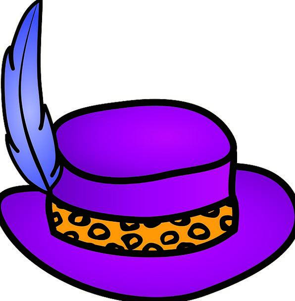 Pimp Hat Fashion Beauty Gangster Criminal Pimps Pi