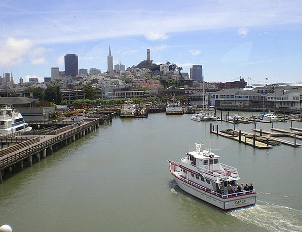 San Francisco Buildings Urban Architecture Ocean M