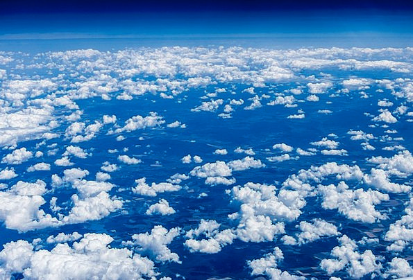 Clouds Vapors Blue The Height Of The Sky