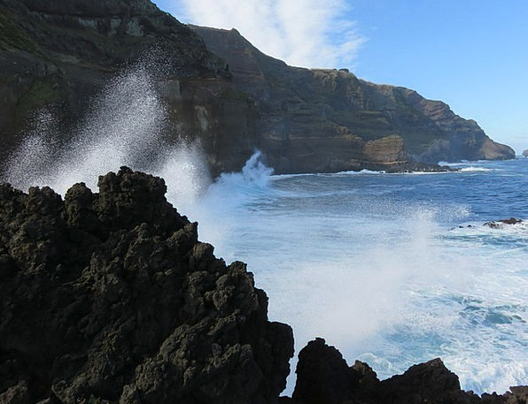 Wave Upsurge Vacation Precipice Travel Crash Bang