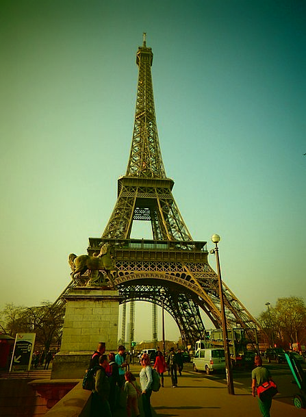 Eiffel Tower Buildings Architecture France Paris S