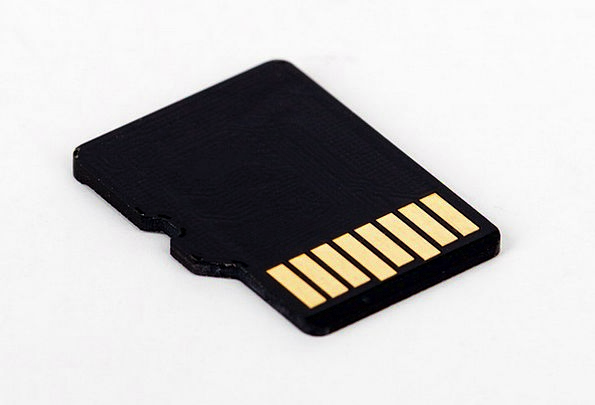 Micro Sd Card Dense Data Information Compact Mini