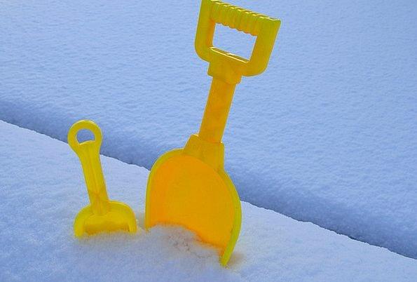 Spade Shovel Textures Snowflake Backgrounds Macro