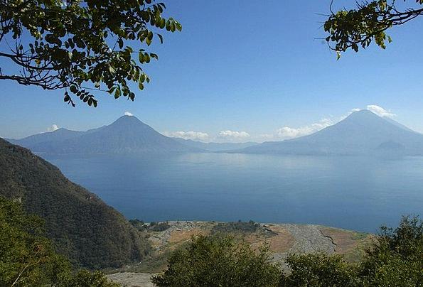 Guatemala Landscapes Scenery Nature Lake Freshwate
