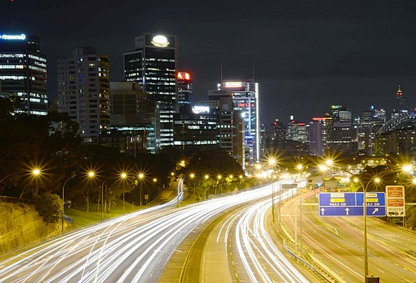 North Sydney Traffic Transportation Freeway Throug