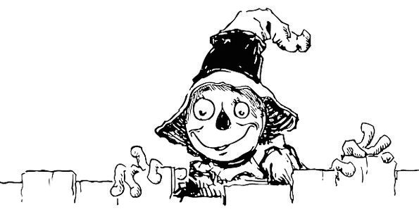 Scarecrow Figure Fright Harvest Crop Scare Free Ve