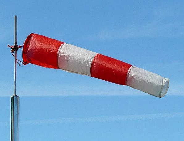 Wind Sock Device Weather Resistant Gauge Nylon Fab