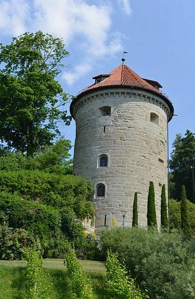 Castle Tower Landscapes Nature Lake Constance Über