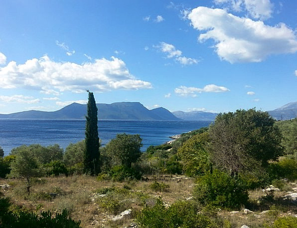 Greece Island Isle Mediterranean Ionian Greek Mega