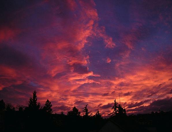 Sunset Sundown Vacation Vapors Travel Landscapes S