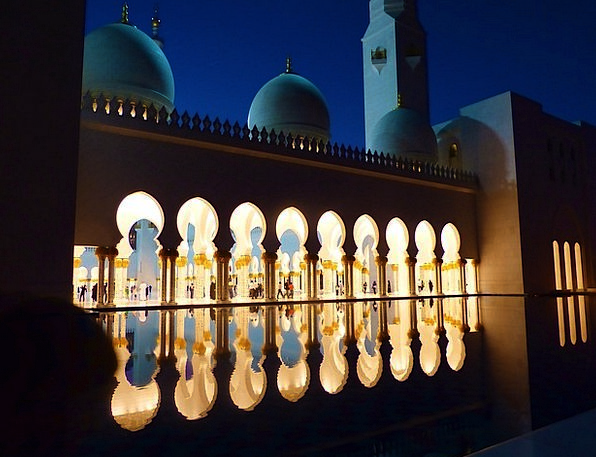 Mosque Abu Dhabi Great Mosque Emirates Countries R