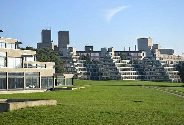 Uea College East Anglia University Lasdun Norwich