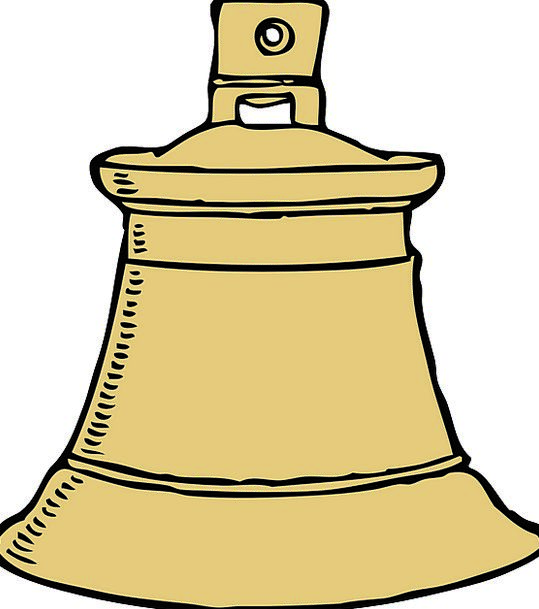 Bell Church bell Circle Ding Ring Dong Ringing Met
