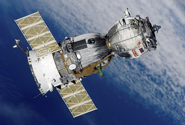 Satellite Cable Spaceship Spacecraft Soyuz Science