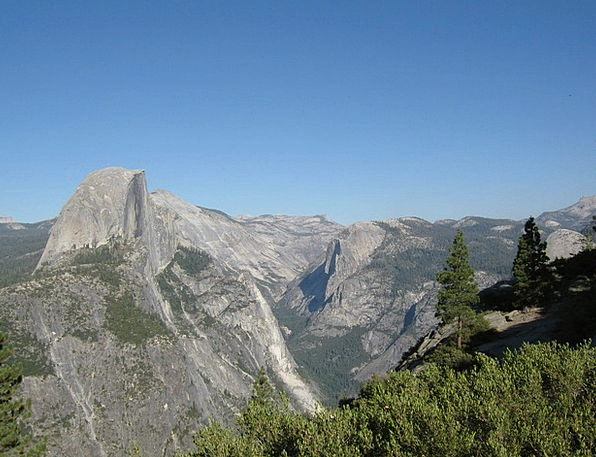 Yosemite National Park Landscapes Nature Mountains