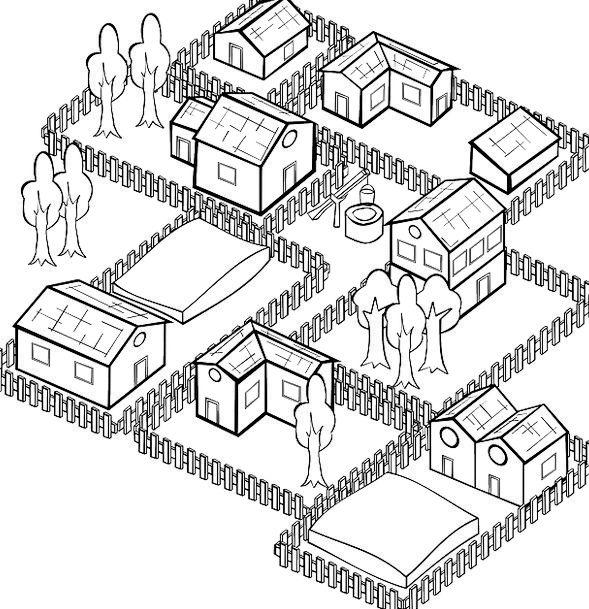 Surprising Houses Households Buildings Plot Architecture Village Download Free Architecture Designs Scobabritishbridgeorg