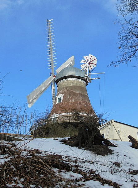Old Windmill Monuments Places 1800 Dyrhave Mill Hi