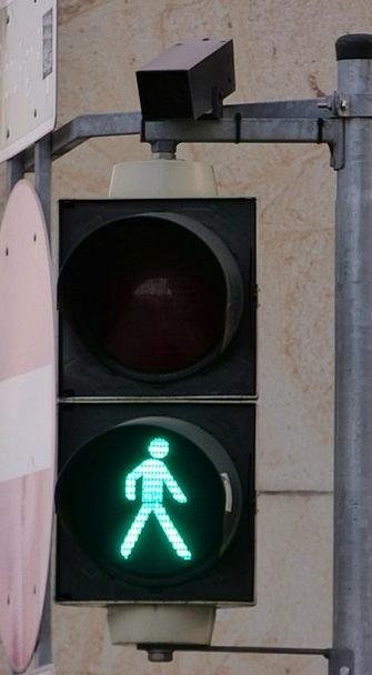 Street Light Traffic Transportation Signaling Gest
