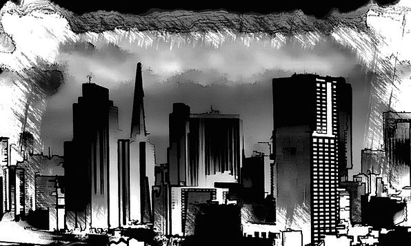 Chicago Textures Horizon Backgrounds Scetch Skylin