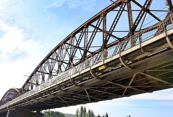 Railway Bridge Viaduct Bond Prague Bridge Vltava C
