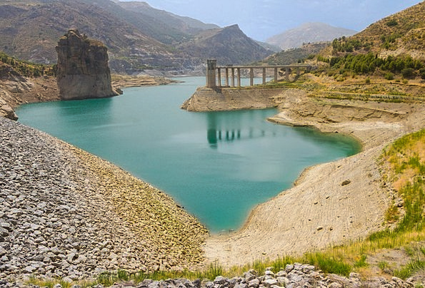 Andalusia Buildings Architecture Lake Freshwater S