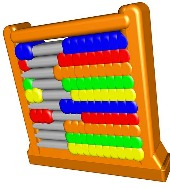 Abacus Mathematics Arithmetic Maths Subtraction Sc