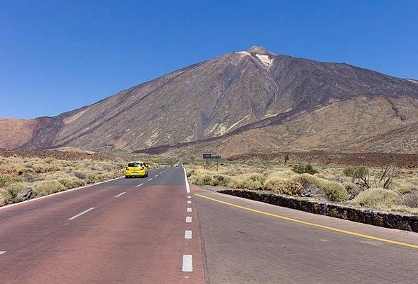 Teide National Park Vulcan Tenerife Lunar Landscap