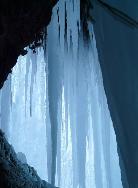 Ice Cave Icicle Stalactite Ice Curtain Ice Formati