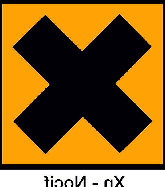 Symbol Damaging French Harmful Warning Cautionary