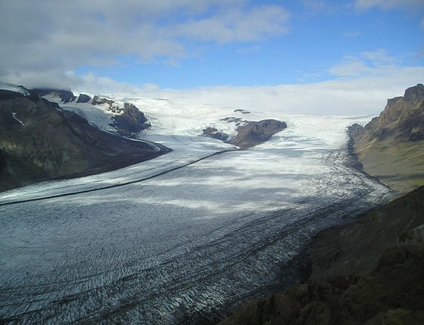 Glacier Frost Ice Sheet Ice Icecap Iceland