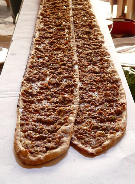 Pizza Drink Food Turkey Turkish Pizza Flat Bread D