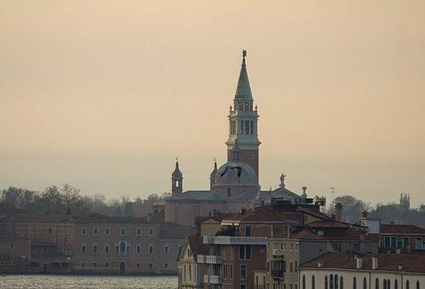 Venice Ecclesiastical Morgenstimmung Church Sunris