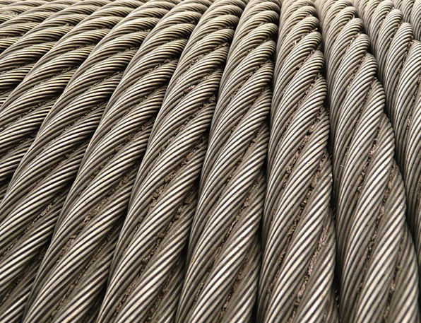 Steel Cable Cord Metal Metallic Rope Seilwindung I