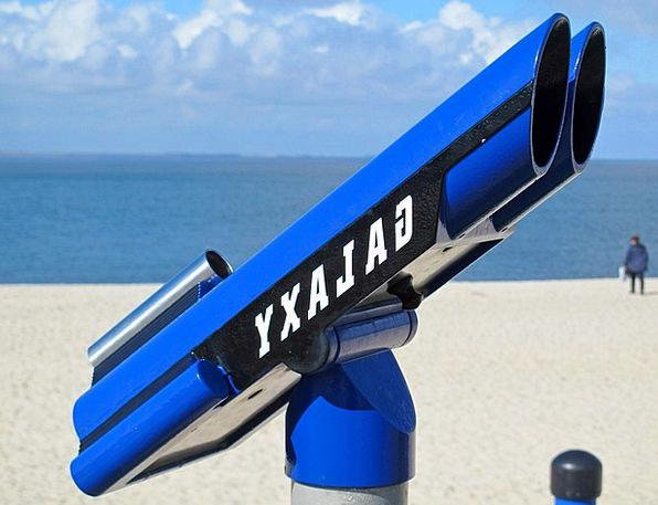 Telescope Contract Vacation Seashore Travel Sea Ma