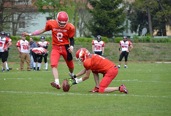 American Football Permission Holding Land Clearanc
