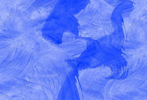 Blue Azure Textures Gouache Backgrounds Background