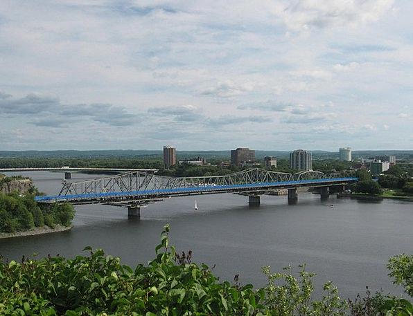 Bridge Bond Traffic Transportation Ottawa Alexandr