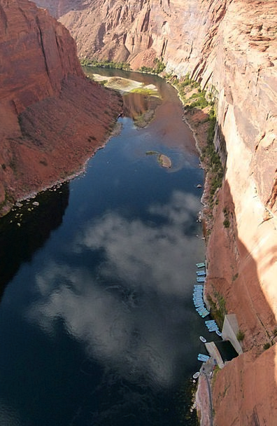 Colorado River Landscapes Stream Nature Water Aqua