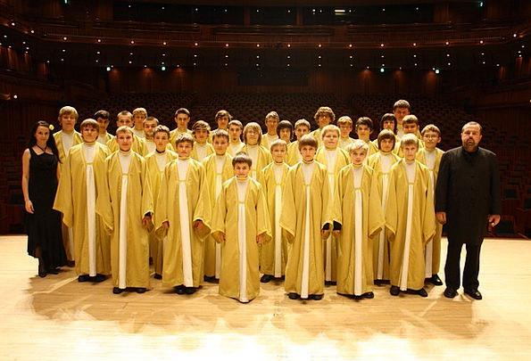 Czech Republic Famous Well-known Pueri Boys Choir