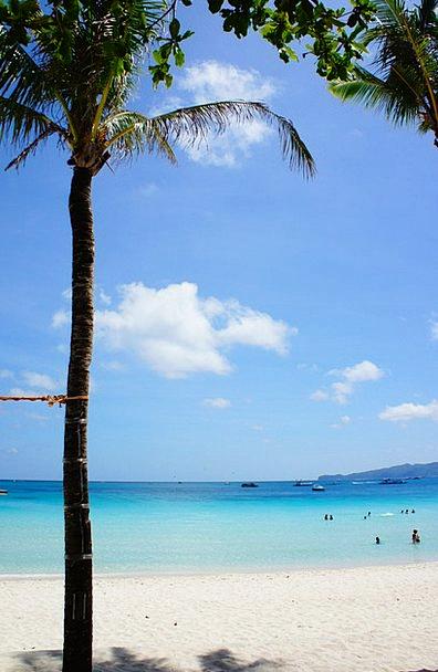 Beach Seashore Vacation Travel Sea Marine Boracay