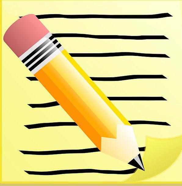 Write Inscribe Letter Memo Memorandum Note Message