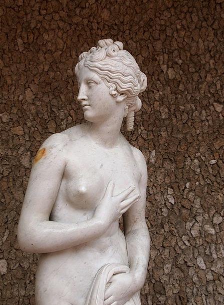 Aphrodite Nude Unclothed Venus Greece Goddess Deit