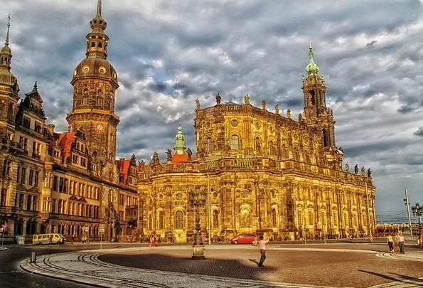 Dresden Buildings Architecture Buildings Structure