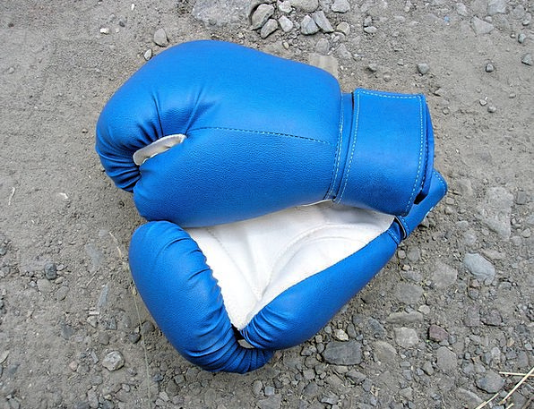 Boxing Pugilism Sporting Gloves Ornaments Sports S
