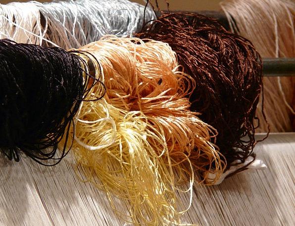 Wool Angora Carpet Weaving Center Silk Tying Ligat