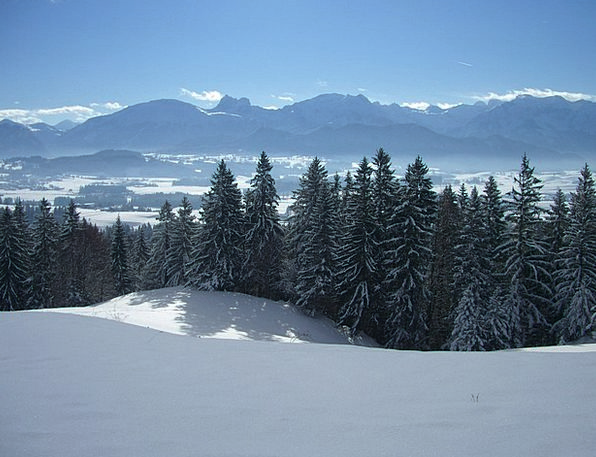 Alpine Panorama Landscapes Nature Breitenberg Agge