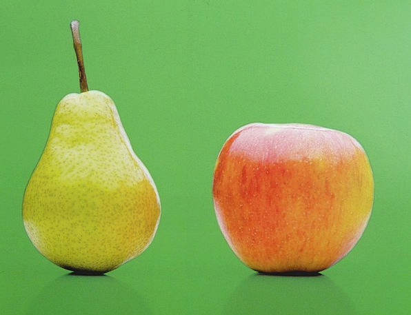 Apple Drink Food Fruit Ovary Pear Pair Ripe Ready