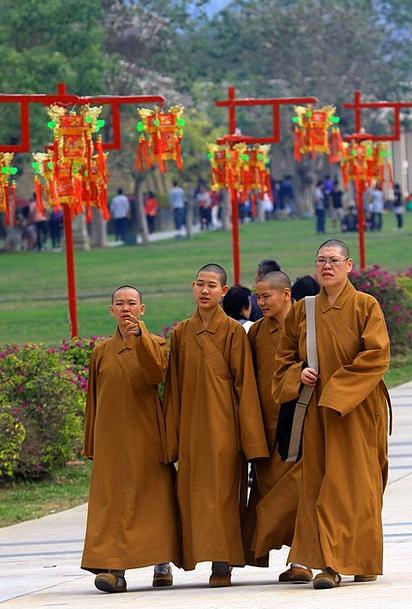 Taiwan Friars Temple Shrine Monks