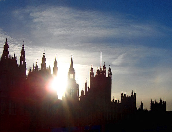 London Vacation Travel Sunset Sundown Briton The R