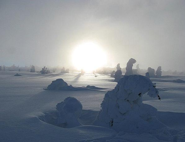 Winter Season Landscapes Snowflake Nature Mountain